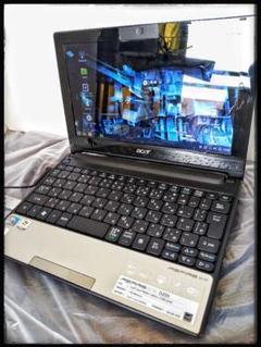 """Thumbnail of """"ジャンクノートパソコンASPIRE ONE D255ws116ATOM N450"""""""
