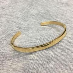 """Thumbnail of """"STAINLESS STEEL プレーンバングル 4mm幅 Gold"""""""