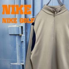 """Thumbnail of """"NIKE GOLF ハーフジップトレーナー ゆるだぼ ワンポイント 刺繍ロゴ"""""""
