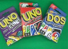"""Thumbnail of """"UNO、DOS、FLiP ウノ、ドス、フリップ カード 3個セット カードゲ"""""""