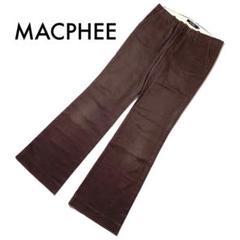 """Thumbnail of """"MACPHEE マカフィー チノパン ブラウンパンツ ワイド 40サイズ"""""""