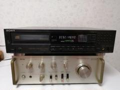 "Thumbnail of ""AurexプリメインアンプSB-320 SONY CDプレーヤー CDC-970"""