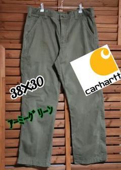 """Thumbnail of """"アメリカ直輸入 CarharttペインターパンツARG38×30アーミーグリーン"""""""