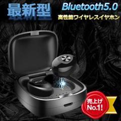"Thumbnail of ""Bluetoothイヤホン カナル型イヤホン XG12 ブラック 最新"""