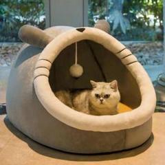 """Thumbnail of """"猫の巣 猫のベッドはセミクローズで、季節を問わず取り外し可能です2"""""""