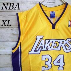 "Thumbnail of ""[激レア]NBA ゲームシャツ ロサンゼルスレイカーズ シャック"""
