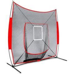 "Thumbnail of ""野球練習ネット 折り畳み式 野球ネット 練習器具 組立簡単 収納袋付き"""