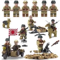 "Thumbnail of ""レゴ LEGO 互換 ミニフィグ 大日本帝国軍 WW2 6体セット 世界大戦"""