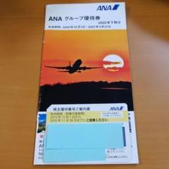 "Thumbnail of ""ANA株主優待券&グループ優待券 2021年5月31日まで有効"""