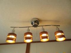 """Thumbnail of """"657 シーリングライト スポットライト 照明 器具 ウッドサークル 天井照明"""""""