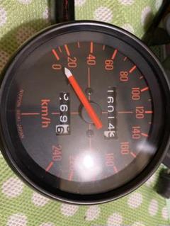 "Thumbnail of ""cb750f .240km/hスピードメーター"""