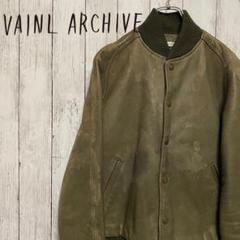 "Thumbnail of ""VAINL ARCHIVE 超希少激レア ダメージデザイン羊革レザージャケットS"""
