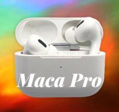 "Thumbnail of ""MaCa pro22 ワイヤレスイヤホン ホワイト 大特価"""
