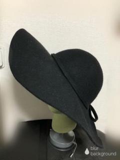 "Thumbnail of ""つば広 帽子 毛100% コムサイズム製品 新品"""