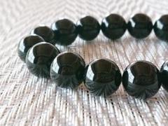 """Thumbnail of """"天然石★【魔よけ・浄化作用】モリオン(黒水晶)13mm"""""""