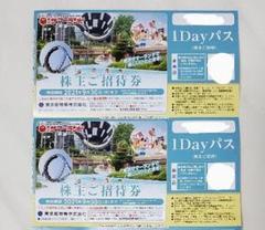 "Thumbnail of ""サマーランド 2枚 フリーパスチケット 株主優待券 遊園地"""