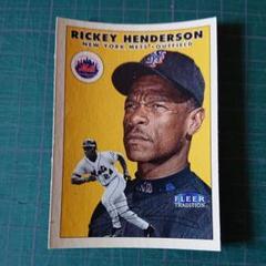 "Thumbnail of ""RICKEY HENDERSON (New York Mets) 2000"""