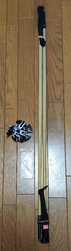 "Thumbnail of ""【中古】KIZAKI キザキ バンブー KPAH-ICO3 ポール ストック"""
