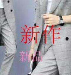 """Thumbnail of """"新品チェック柄 セレモニー ワイドパンツ スーツジャケット パンツスーツWf"""""""