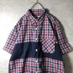 """Thumbnail of """"【ヴィンテージ】90'sチェックシャツ ボタンダウン 古着 used V2"""""""