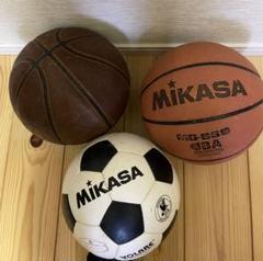 """Thumbnail of """"サッカーボール1個、バスケットボール2個 セット❗️早い者勝ち、即決可能、送料込み"""""""