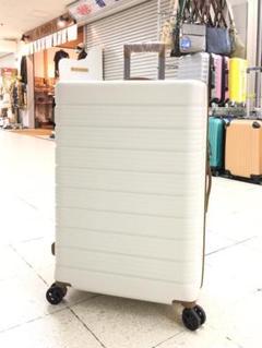 """Thumbnail of """"小型軽量スーツケース8輪キャリーバッグ TSAロック付 機内持込 Sサイズ 白"""""""
