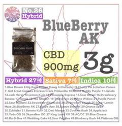 """Thumbnail of """"CBD ハーブ 3g 高濃度900mgアメリカ産テルペンBlueBerry AK"""""""