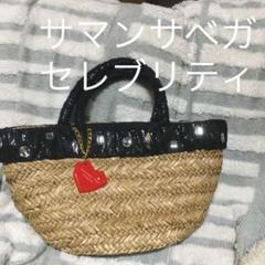 "Thumbnail of ""夏必須アイテム♪ サマンサベガセレブリティ かごバッグ"""