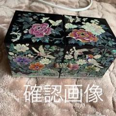 "Thumbnail of ""螺鈿漆塗りジュエリーボックス名あり"""
