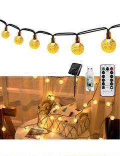 "Thumbnail of ""7」ledフェアリーライト イルミネーションライト60電球11M 8種類の照明モ"""
