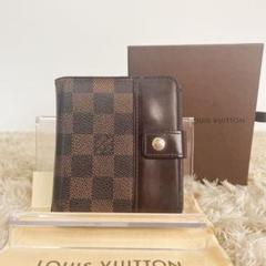 """Thumbnail of """"LOUIS VUITTON ルイヴィトン ダミエ コンパクトジップ 折財布 箱"""""""