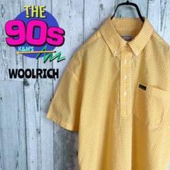 "Thumbnail of ""90's ウールリッチ ロゴ刺繍 プルオーバー ギンガムチェックシャツ 希少"""