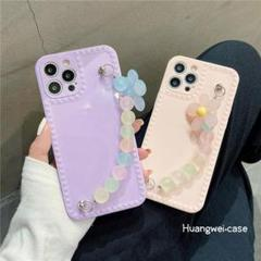 "Thumbnail of ""韓国大人気  iPhone12 ケース パープル"""