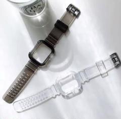 "Thumbnail of ""腕時計 Apple Watch 透明バンド 38mm 40mm アップルウォッチ"""