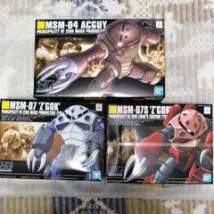 "Thumbnail of ""HG  ガンプラ アッガイ・ズゴック 水陸両用セット 新品"""