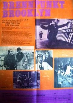 """Thumbnail of """"東ドイツ版!ジーン・ハックマン主演 映画『フレンチ・コネクション』ポスター!"""""""