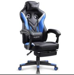 "Thumbnail of ""デスクチェア オフィスチェア ゲーミングチェア 椅子 ゲーム リクライニング"""