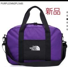 "Thumbnail of ""海外!ノースフェイス ボストンバッグ ショルダーバッグ 新品 タグ付き 紫"""
