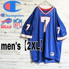 "Thumbnail of ""【NFL×Champion】バッファロー・ビルズ ゲームシャツ【メンズ2XL】"""