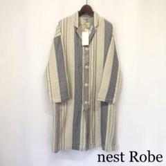 """Thumbnail of """"nest Robe リネンコート リネンジャケット ストライプコート"""""""