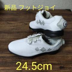 "Thumbnail of ""未使用《フットジョイ  》ゴルフシューズ 24.5cm"""