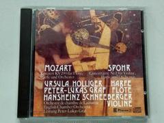 "Thumbnail of ""匿名配送 グラーフ&ホリガー/モーツァルト:フルートとハープのための協奏曲他"""