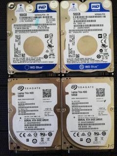 "Thumbnail of ""500GB HDD ×4台②"""