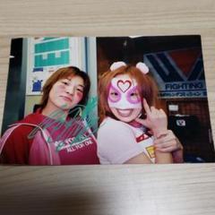 "Thumbnail of ""直筆サイン入り生写真  アップルみゆき&お船ちゃん"""