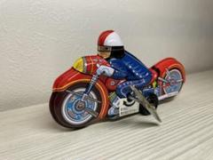 "Thumbnail of ""ブリキのおもちゃ復刻版(日本製)★バイク"""