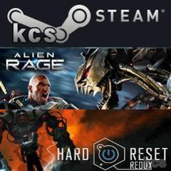 "Thumbnail of ""Alien Rage + Hard Reset Steam版 定価4002円を"""