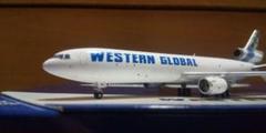 """Thumbnail of """"1/400 MD-11F ウエスタン・グローバル"""""""