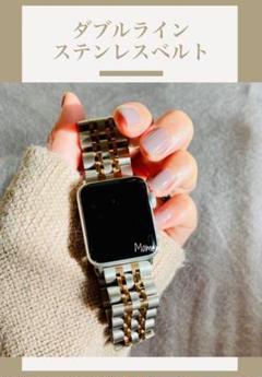 """Thumbnail of """"Apple Watch ダブルラインベルト ローズゴールド 38mm/40mm"""""""