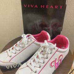 """Thumbnail of """"VIVA HEART ビバハート ゴルフシューズ 24.5cm"""""""