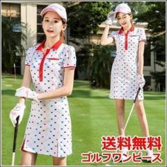 """Thumbnail of """"LD1722021春夏ゴルフワンピース新作ゴルフレディースウエアドレス"""""""